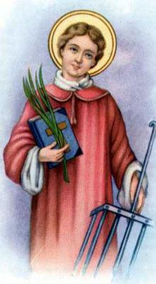 Novena a San Lorenzo martire